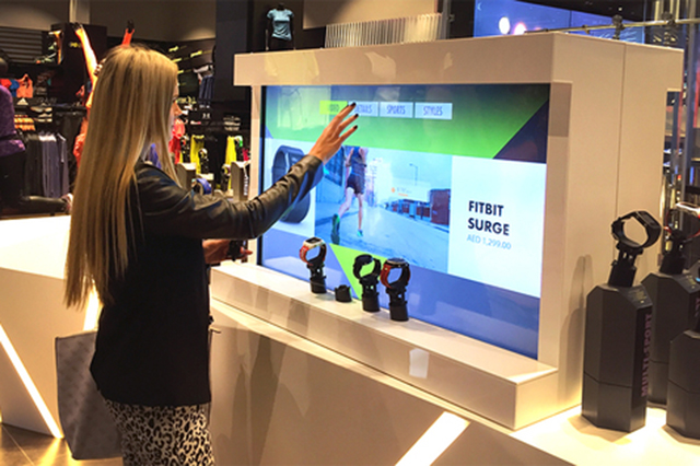 GoSport - Digi Award-winning interactive display for fitness products