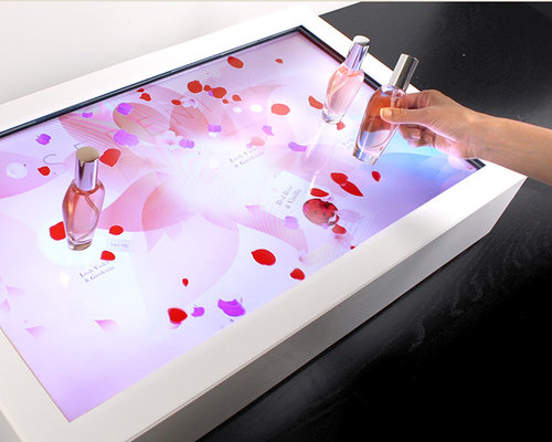 In Interactive Tables -