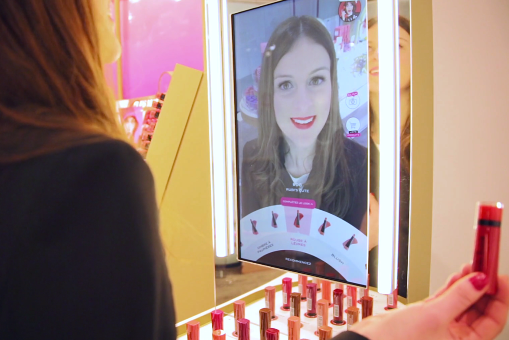 Bourjois by Holition & Perch - Interactive Augmented Reality Mirror