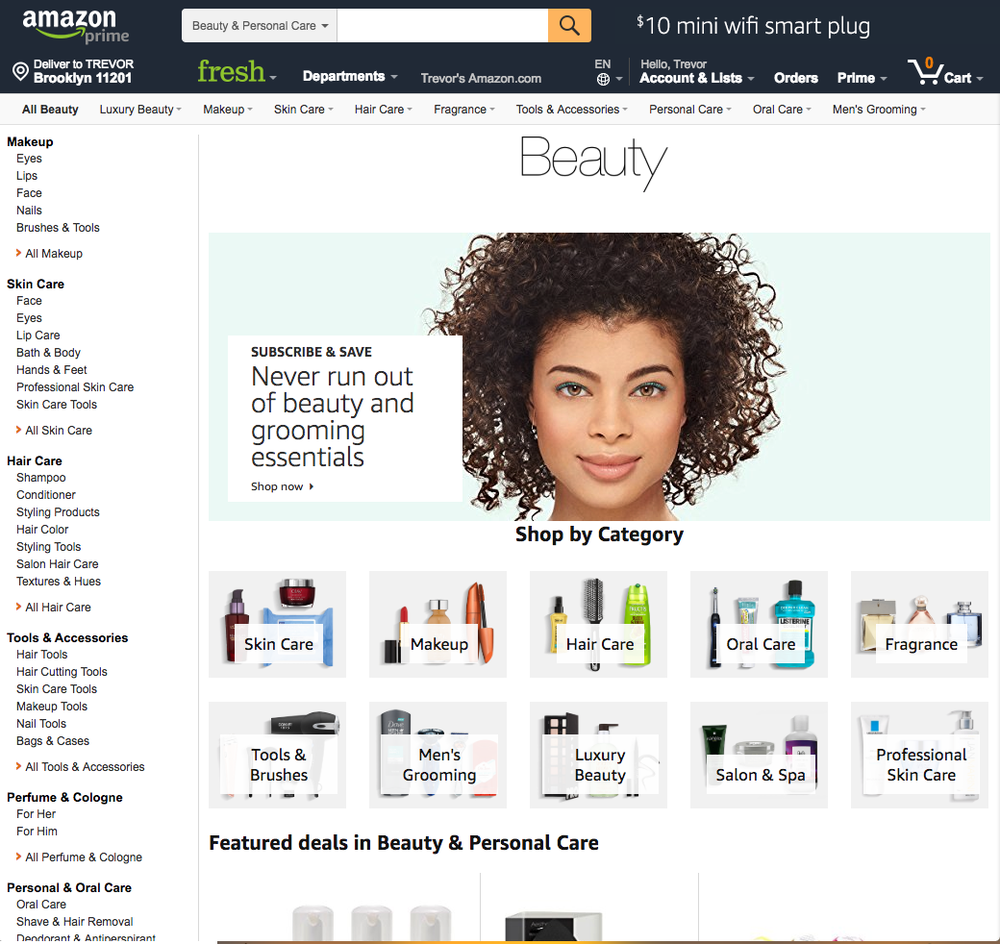 Amazon Beauty Marketing