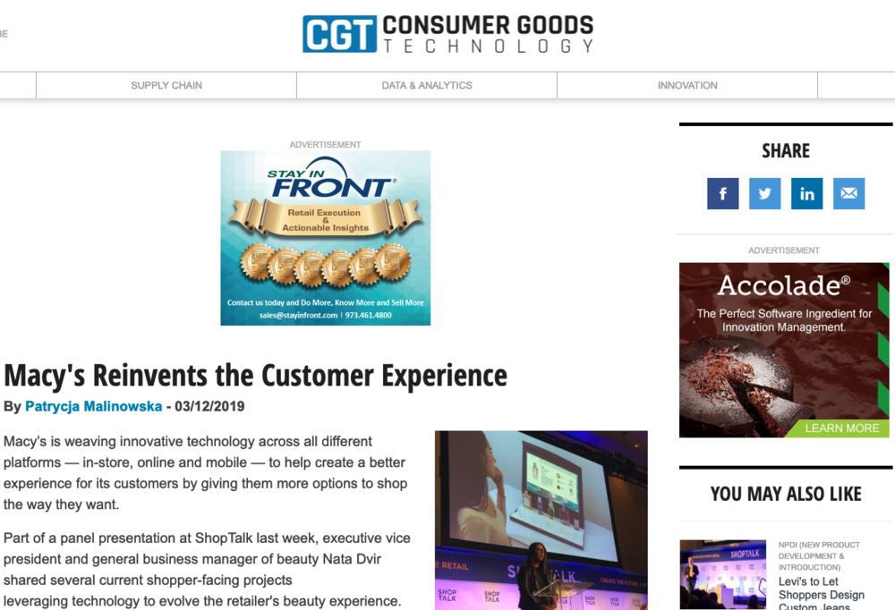 Perch_Consumer Goods Technology_Macy's