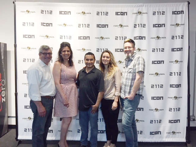 Meet client-friend   Higher Healing  , a game-changing Chicago company that makes CBD-based products for a healthier life. In the pic: Roderick and Michele with 2112's Rob Tovar, Higher Healing CEO Tatum Drewes and InteGRATted Creative Director Frankie Gray.   READ THE STORY  .