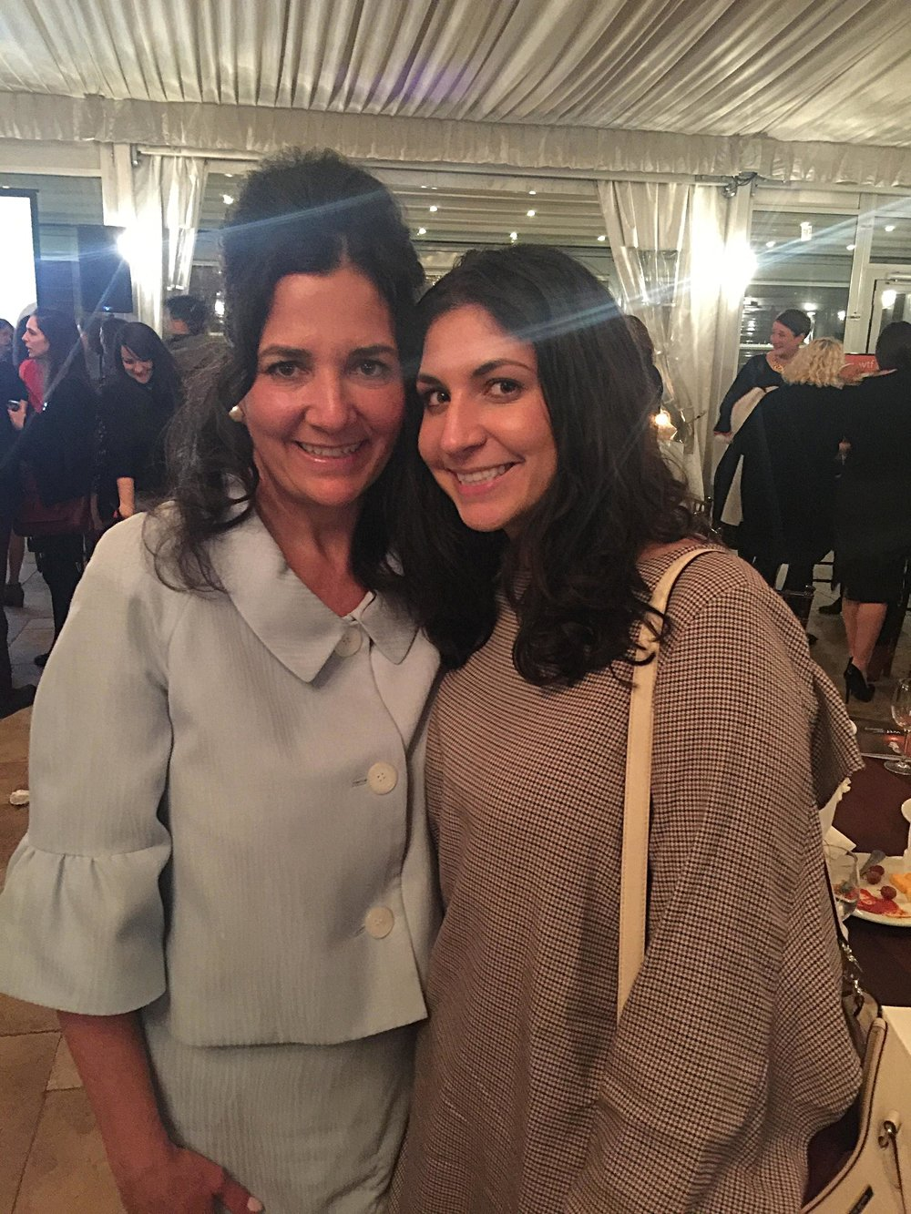 Michele and daughter Katherine at Women Tech Forum Awards on Nov. 8, 2018.
