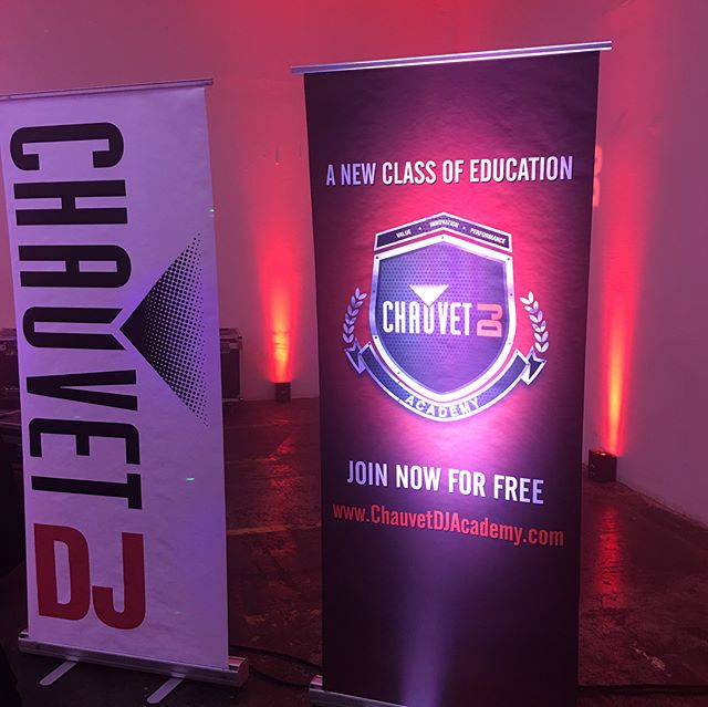 Attending the CHAUVET DJ & Electro-Voice Road Show - CLEVELAND. Learning & checking out new gear, doing what it takes to give our clients the best possible events.