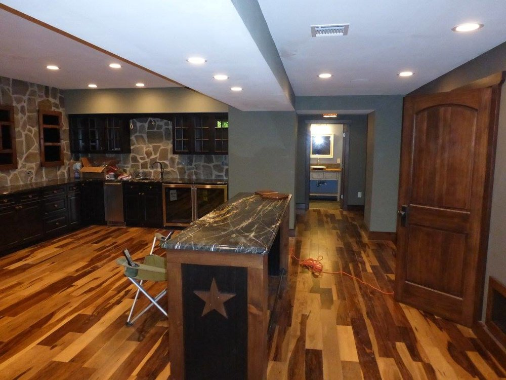 Berkeley Heights Country Basement
