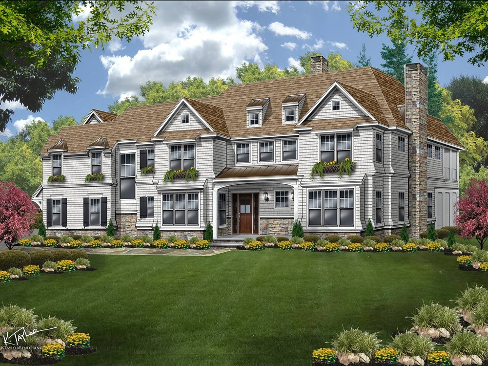 Basking Ridge Custom Home