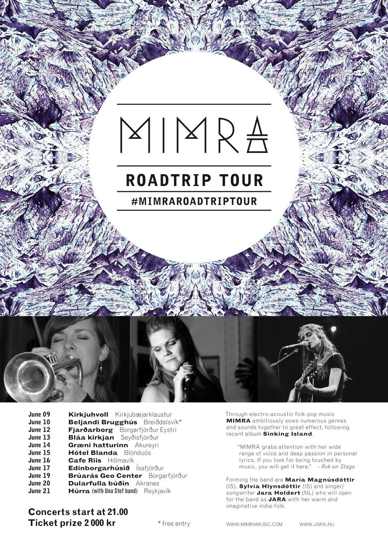 #MimraRoadtripTour summer 2018