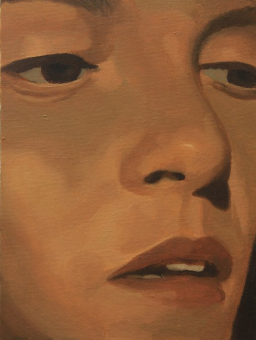 Face,2012,18cm x 24cm, Oil on canvas.jpg