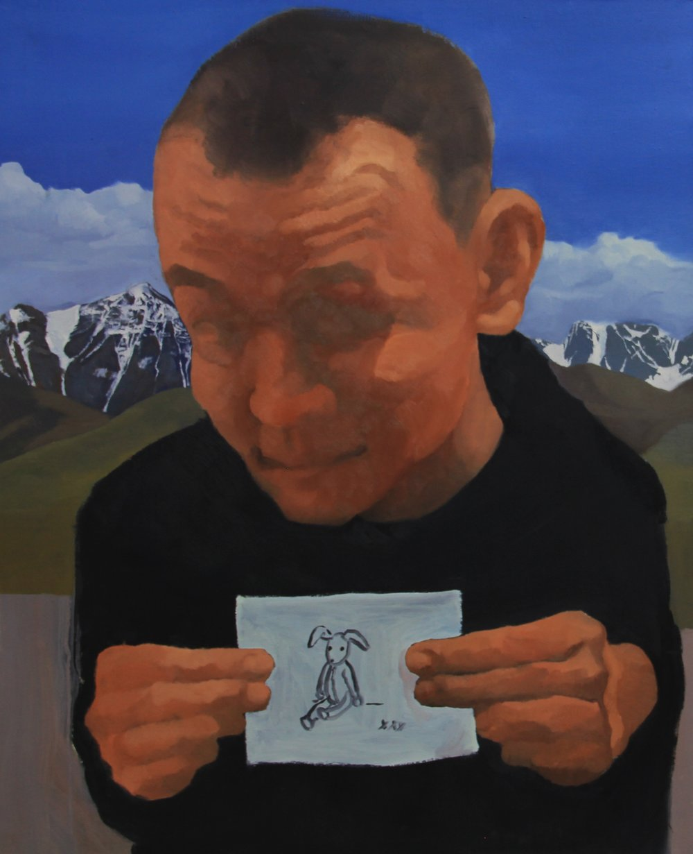 Have you seen it,2011 ,80cm  x 60cm, Oil on canvas.jpg