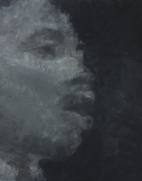 Martin Luther King, Jr., 2012, 24cm x 30cm, Oil on canvas.jpg