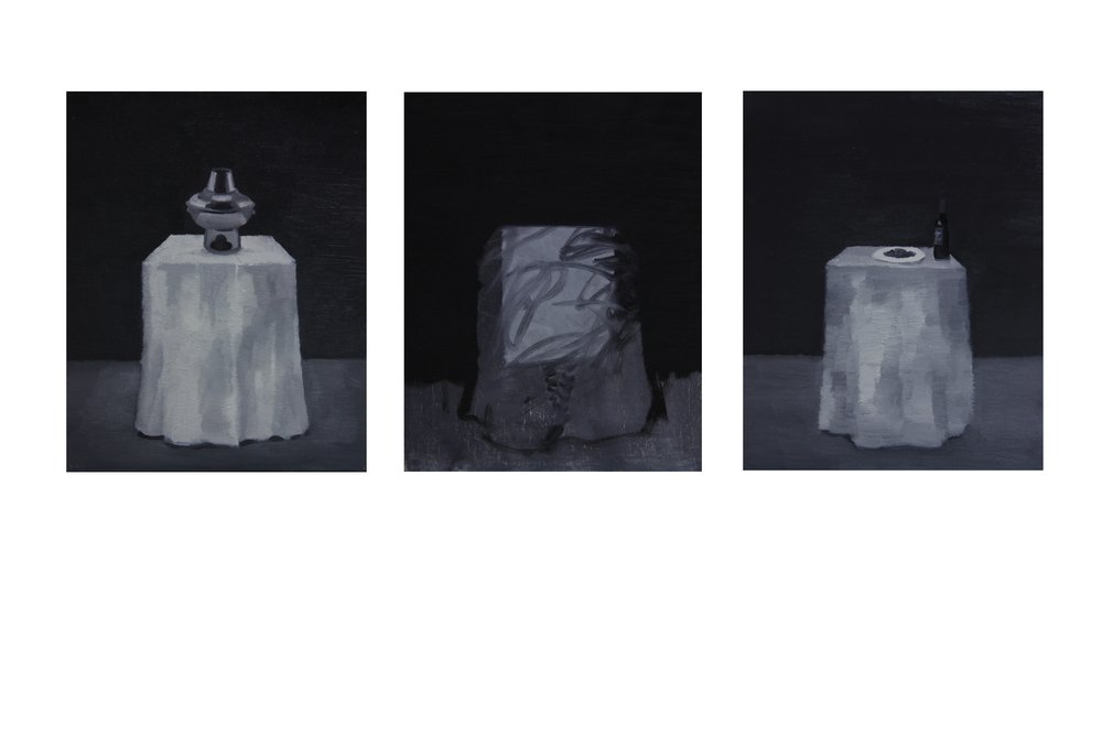 Table ,2013 ,24cm x 30cm x 3 ,Oil on canvas.jpg