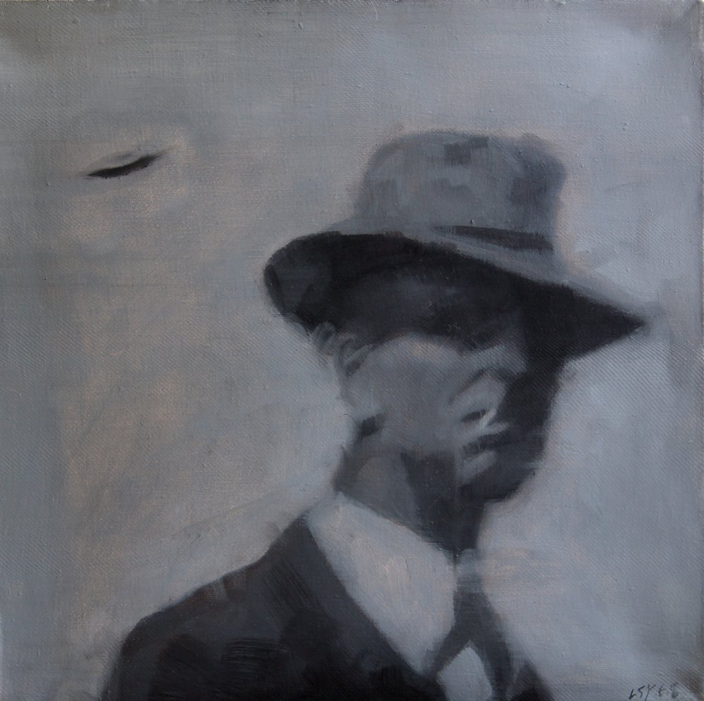 Unidentified Flying Object 2,2010 ,30cm x 30cm, Oil on canvas.jpg