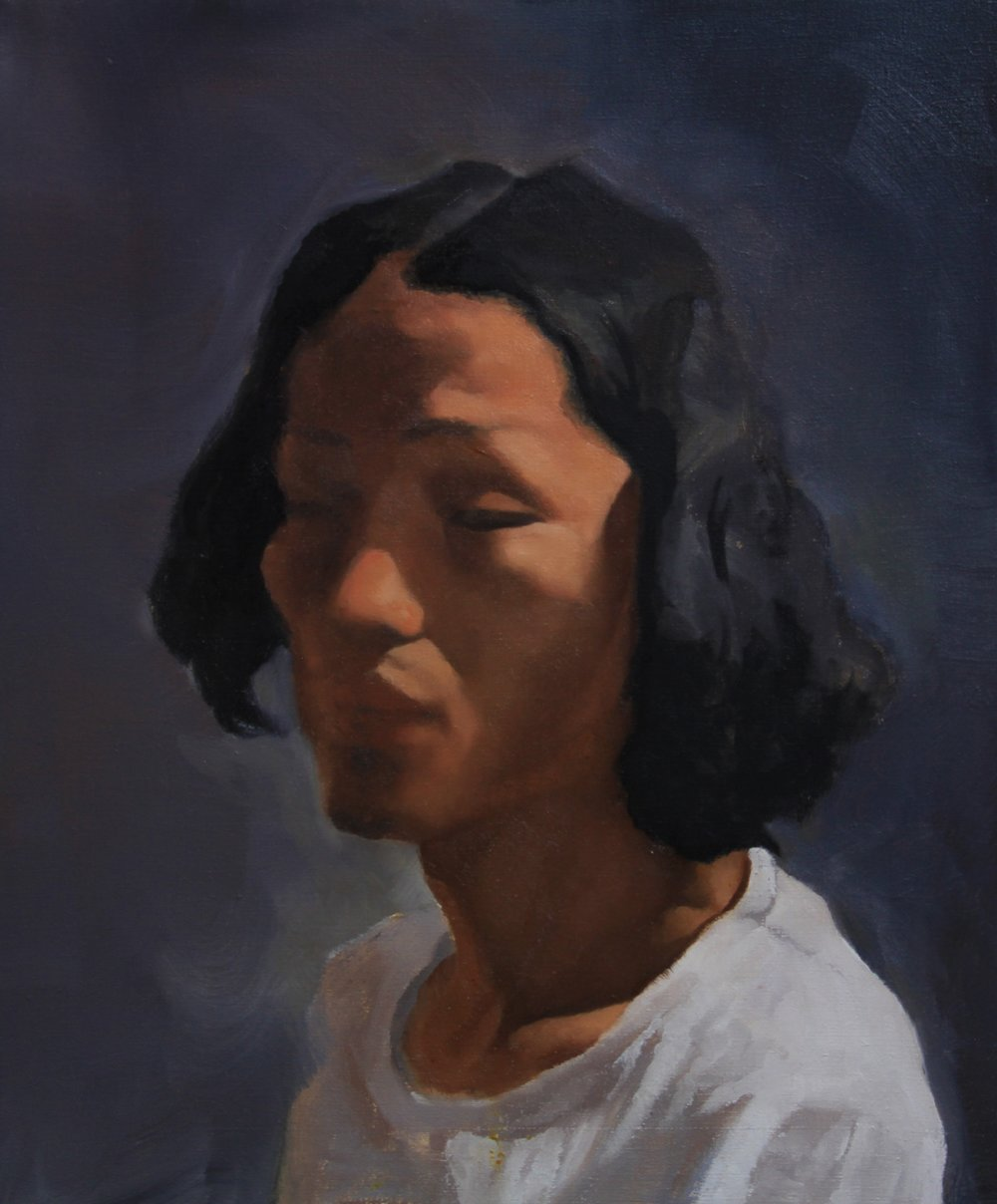 Xiao, 2011,  50cm x 60cm, Oil on canvas.jpg