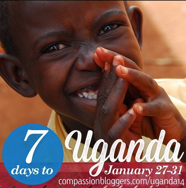 Counting down to our Uganda blogging trip