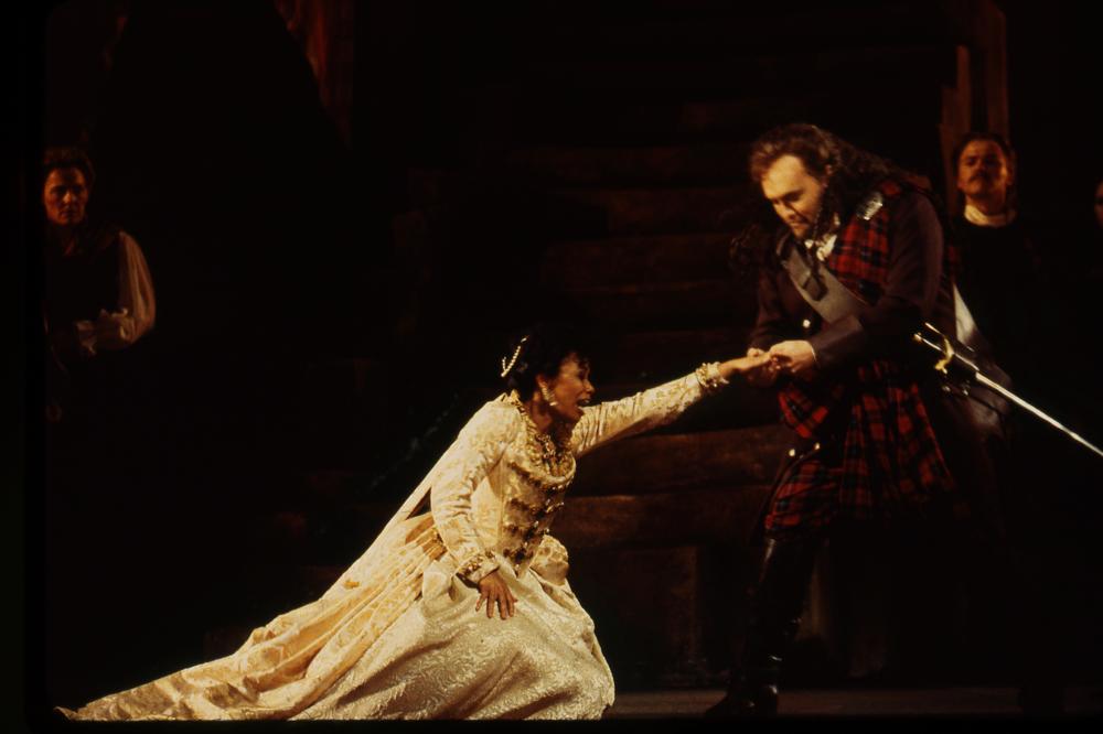 Lucia in  Lucia di Lammermoor , Seattle Opera