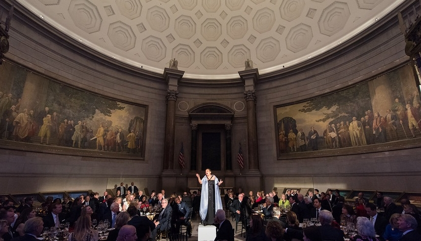 LBJ Award Dinner at The National Archives, Washington D.C.