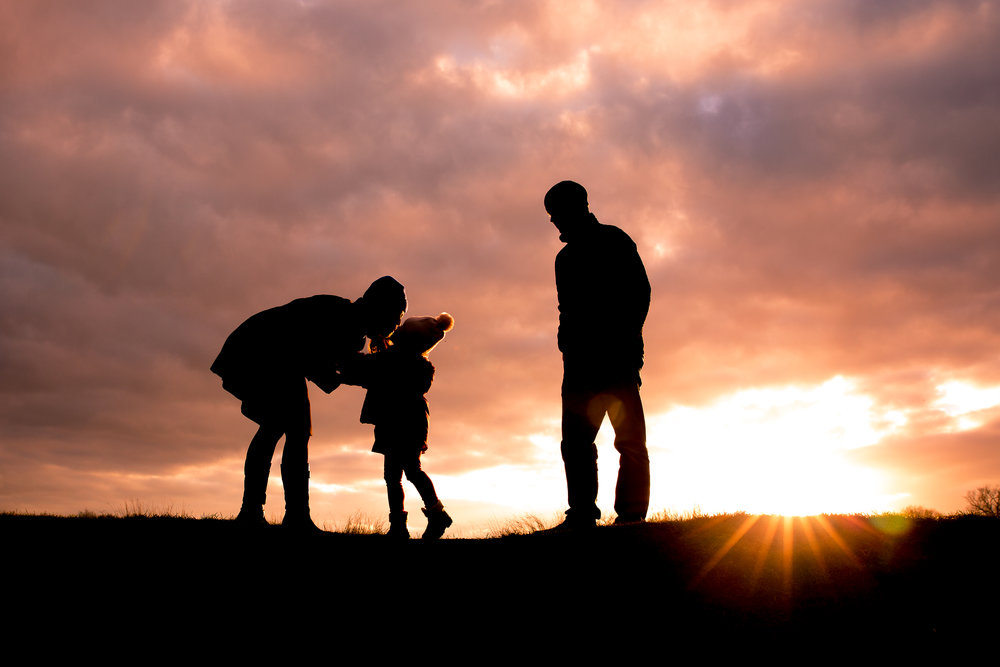 Family Silhouette | London Lifestyle Photographer
