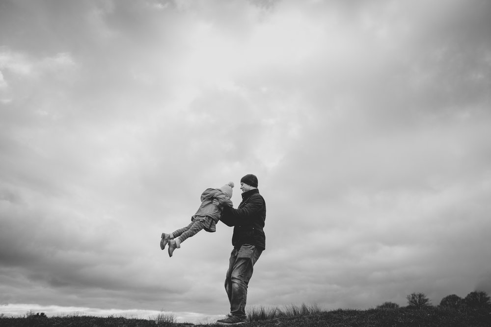 Dad and daughter | Wimbledon family photographer