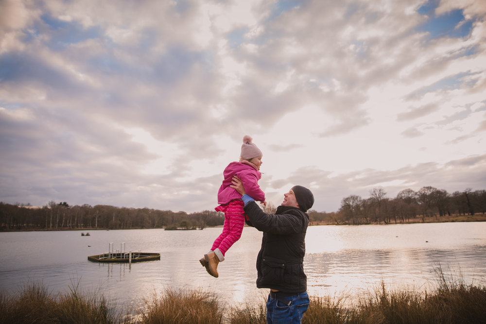 Daughter dad photoshoot | Wandsworth family photographer