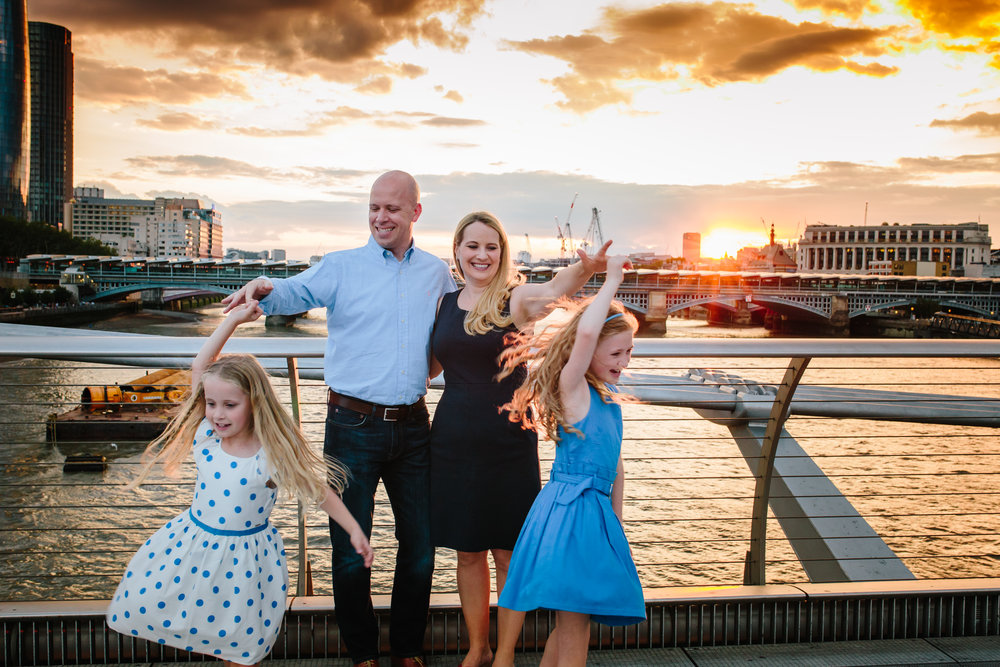 London Family Photography - river thames
