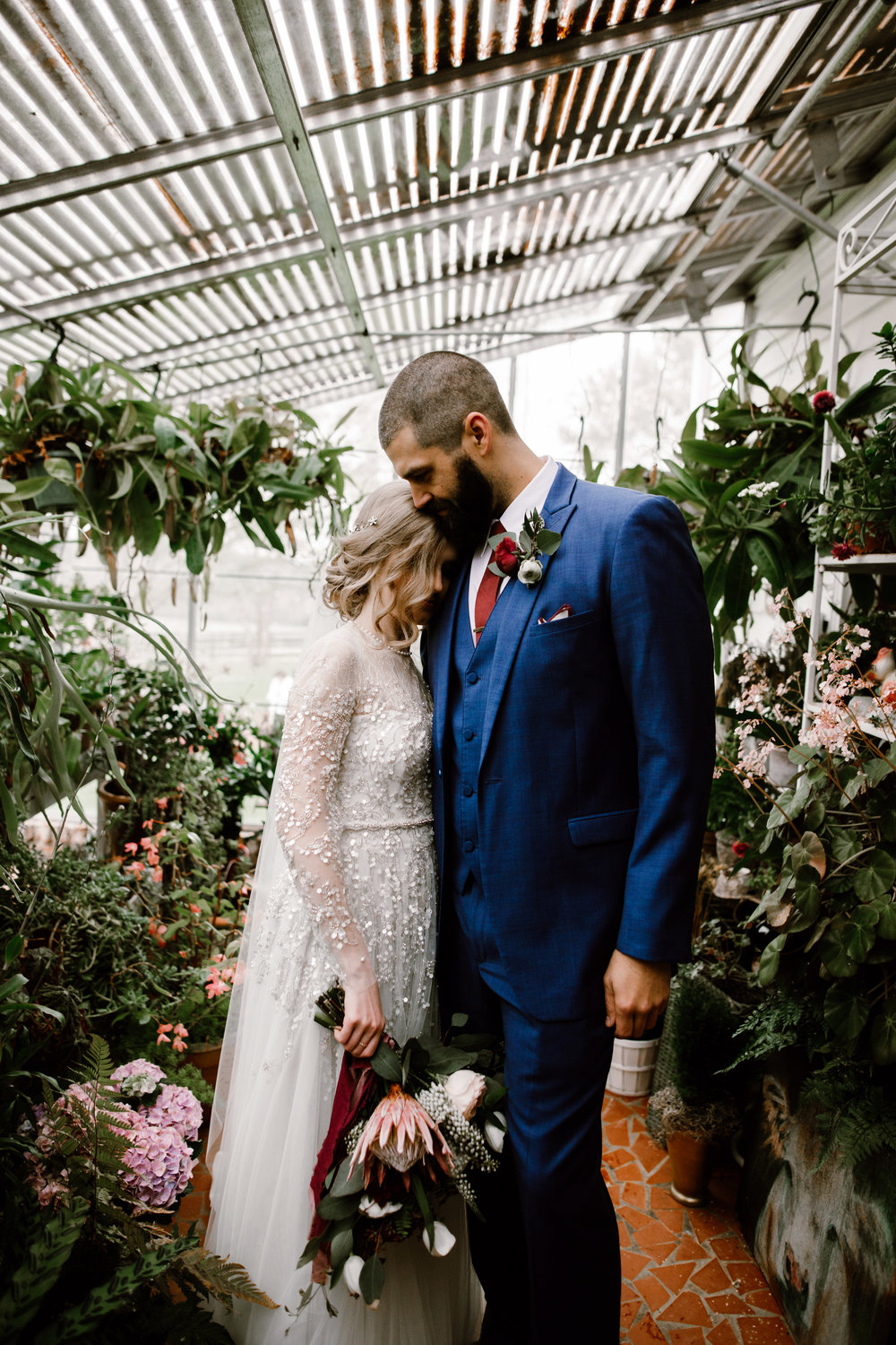 SWEET MEADOW GREENHOUSE | KRISTIN + BRIAN