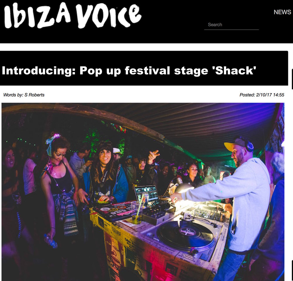 The good people at Ibiza Voice interviewed us...  -