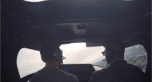 """""""Me setting up for slow flight and stalls in a Cessna162″"""