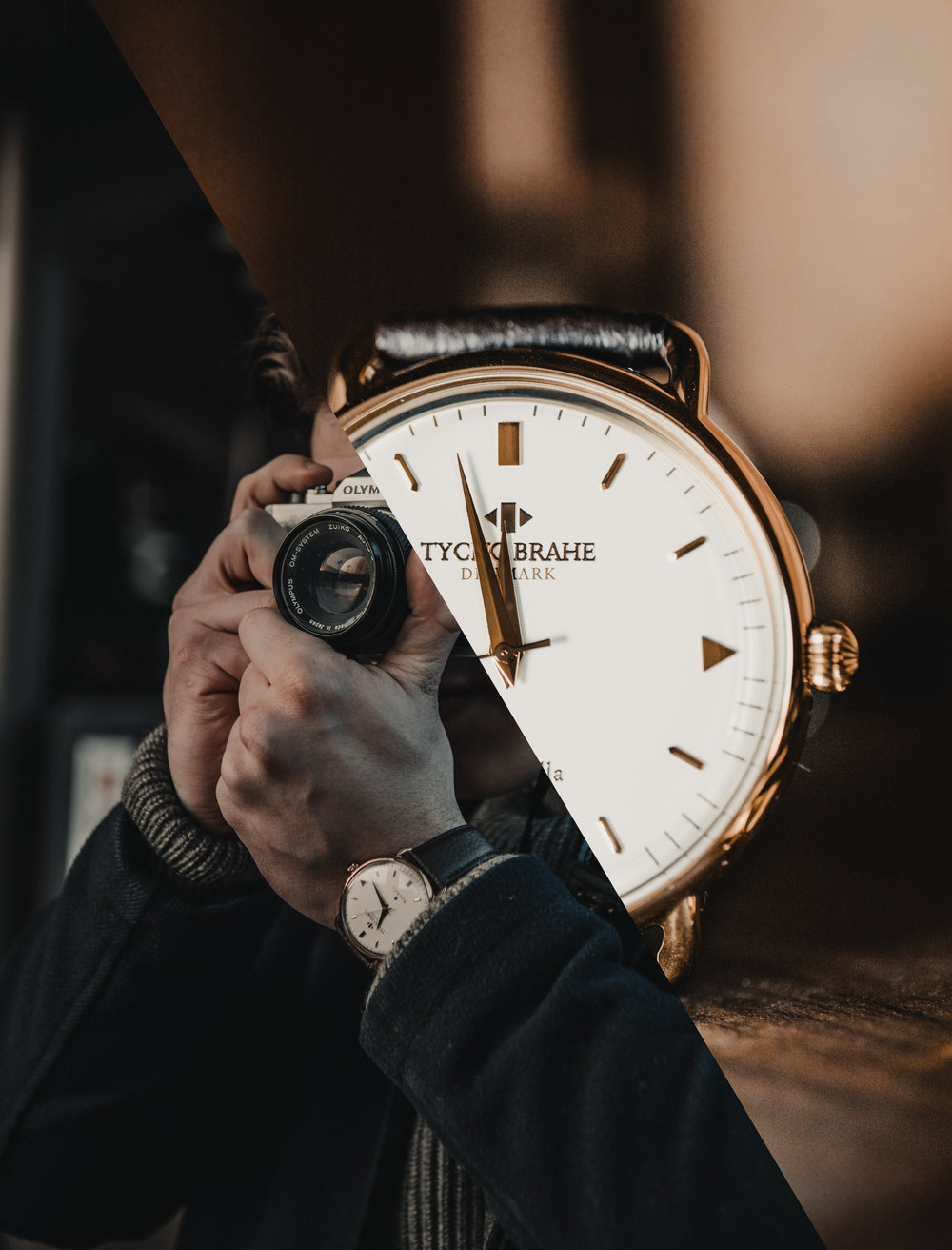shoot WithThyco brahe watches -