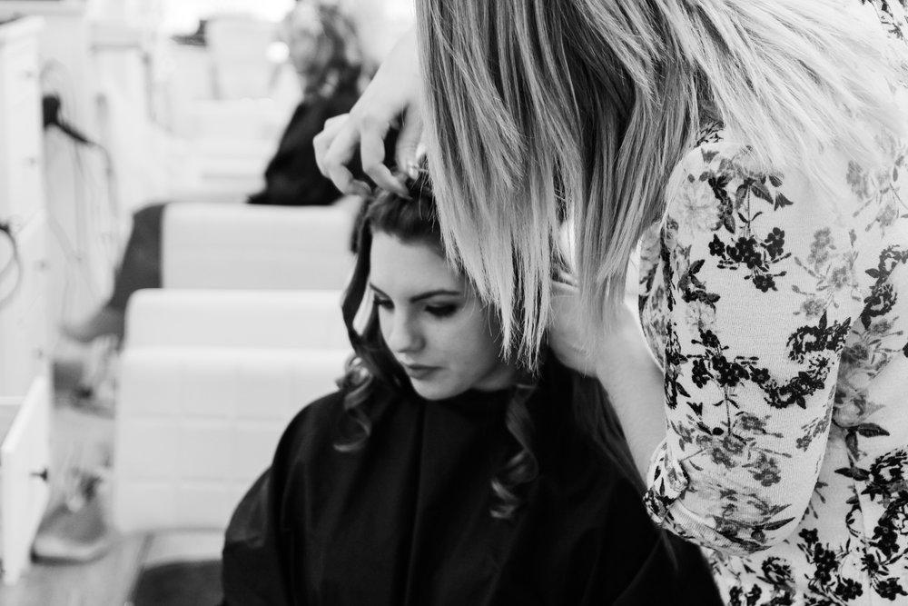 Meet the hair artists -
