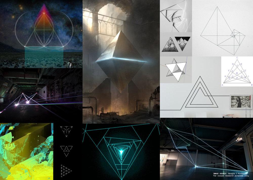 + magnify triangulation moodboard