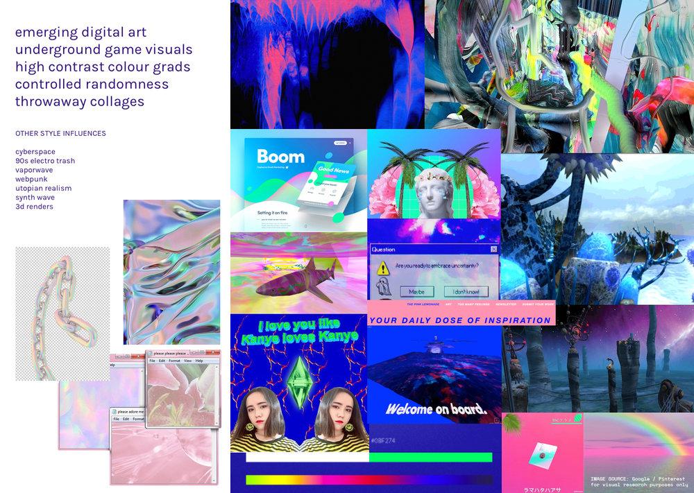 + magnify digital culture moodboard