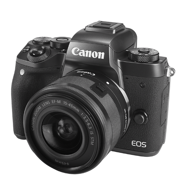 Canon EOS Camera - Include EF-M 15-45mm f/3.5-6.3 IS STM Lens Kit - 24,2 Mp, DIGIC 7 image processor - Dual Pixel CMOS AF
