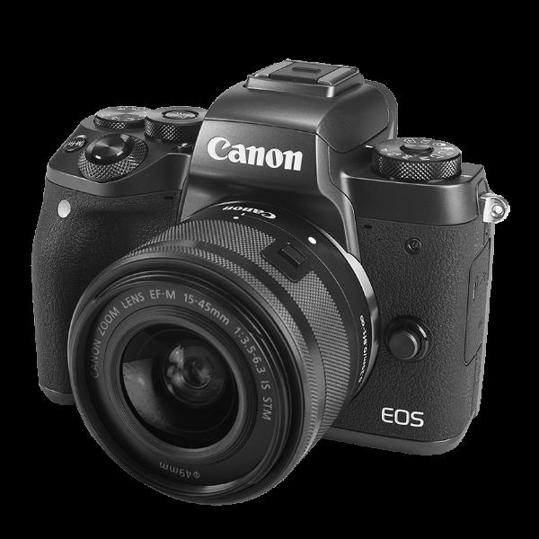 Canon EOS Camera  - Include EF-M 15-45mm f/3.5-6.3 IS STM Lens Kit -24,2 Mp, DIGIC 7 image processor - Dual Pixel CMOS AF