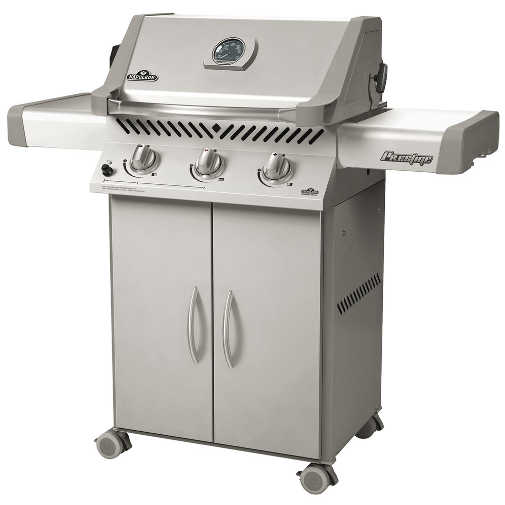 Napoleon Natural Gas BBQ  - Stainless steel - 3 burners, 29,000 BTU - 308 sq. in. of cooking surface