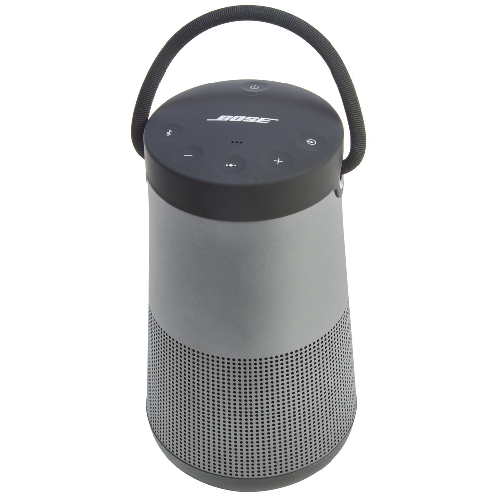 BOSE Bluetooth Speakers  - Seamless aluminum body is durable and water-resistant - 360° sound - Up to 16 hours of play time