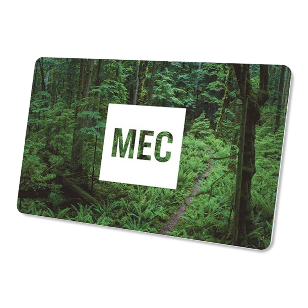 $150 MEC gift card  - Redeemable by phone, online or in-store