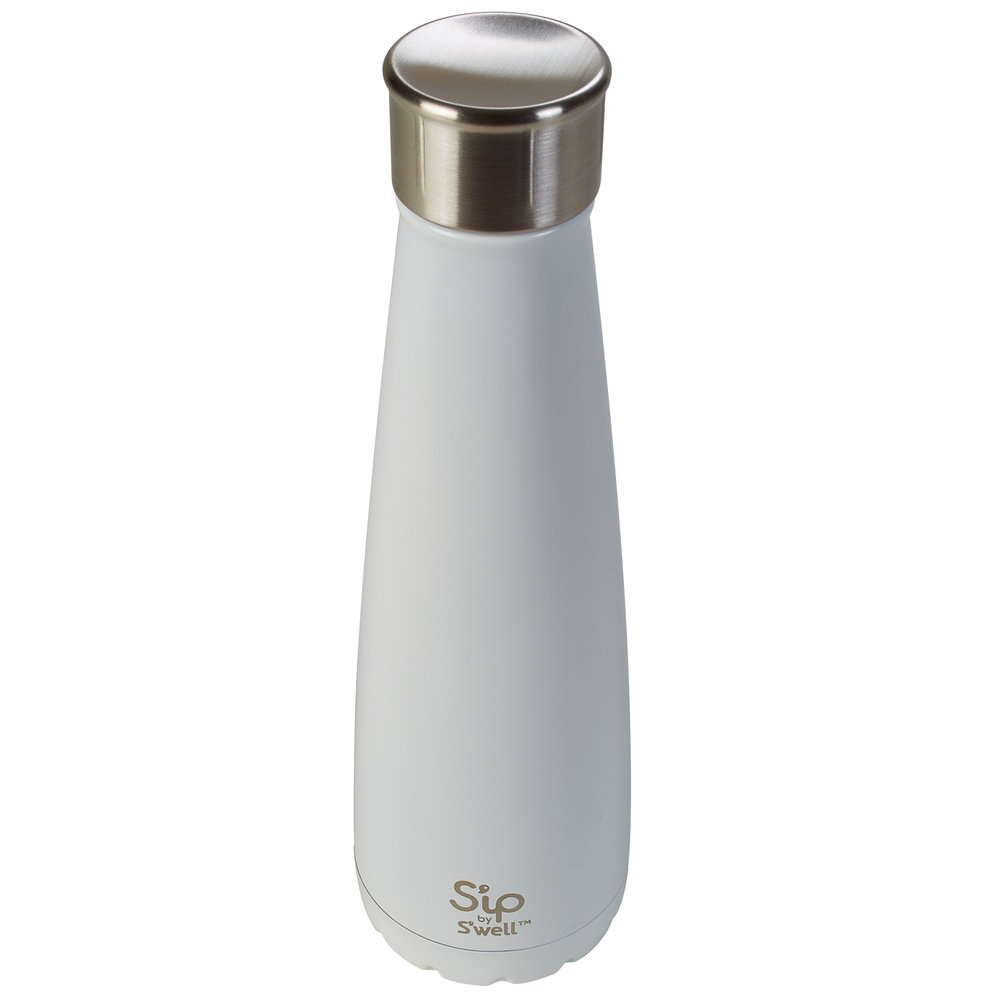 S'well insulated Bottle  - Keeps your drinks hot for 12 hours or cold for 24 hours - 450ml (15oz.) capacity - BPA-free design