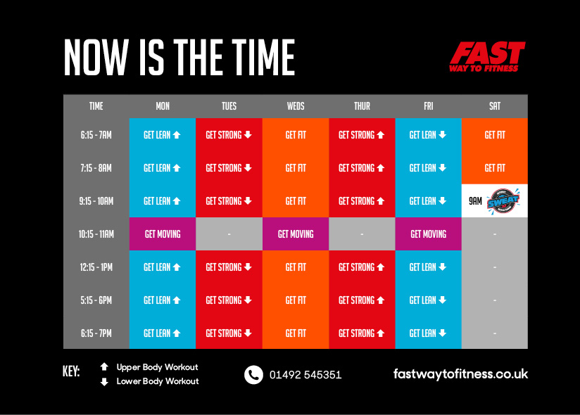 The April to June Timetable 2019