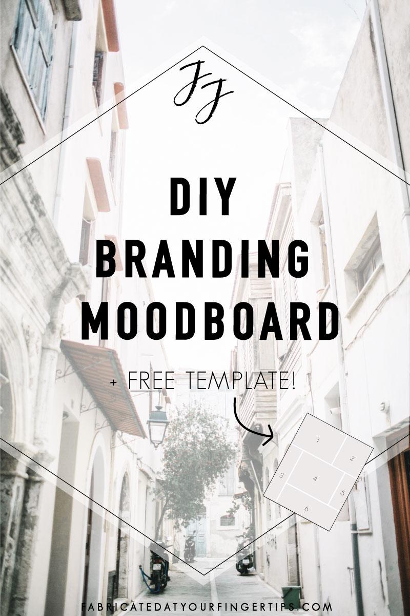 diy branding moodboard