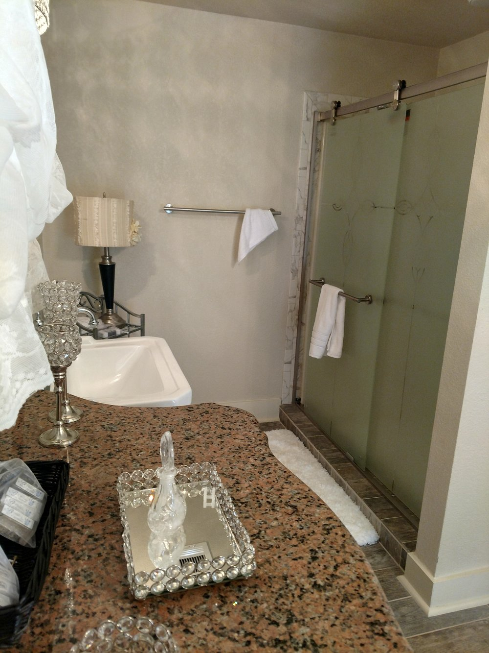 Queen Elizabeth Shower View