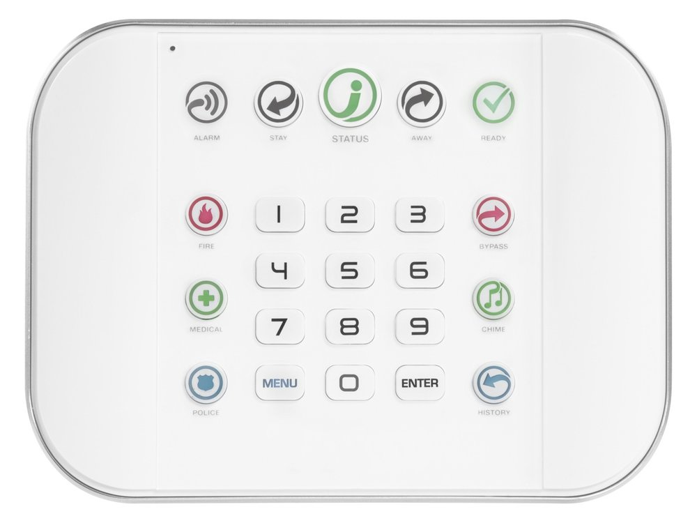 Self-Contained - Self contained alarms can communicate via the internet or cellular for access to the app or monitoring. Self contained alarms can wirelessly connect to battery powered sensors  around the home. Some models also have Z-wave built in for easy integration to smart door locks and lights.