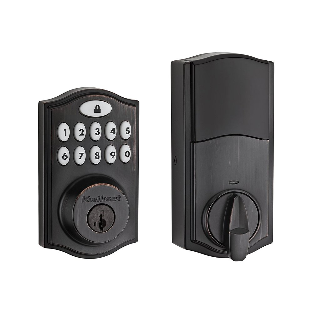 Smart Door Locks - Do you know how many copies of your house key are in the wild? A smart keypad door lock is an easy way to manage access to your home.