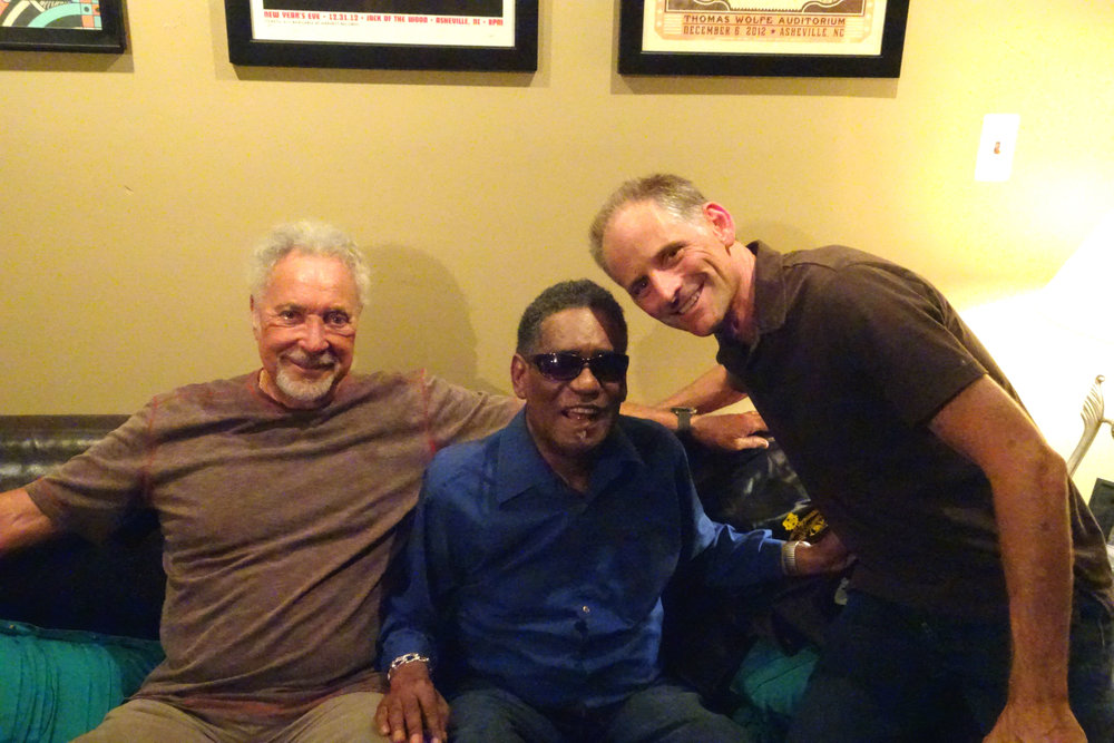 Sir Tom Jones, Rudy Copeland, Rick Holmstrom; LA, CA