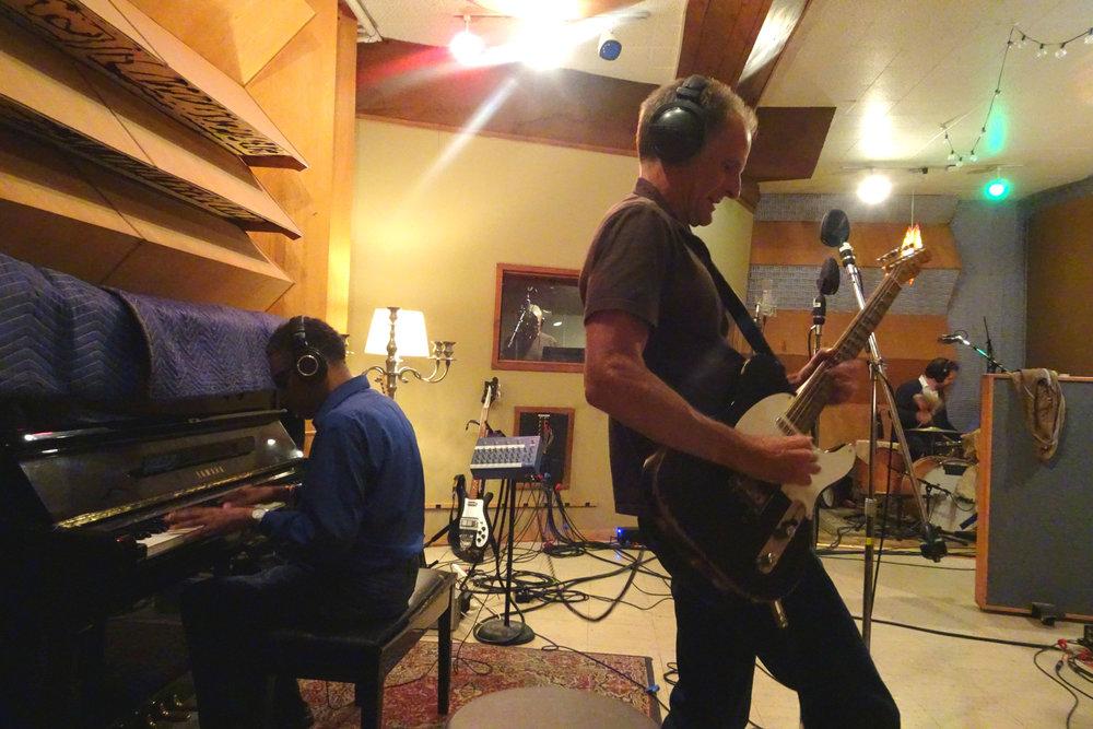 Rudy Copeland, Tom Jones, Rick Holmstrom, Jay Bellerose; LA, CA