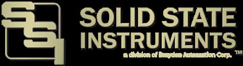 Solid State Instruments - www.SolidStateInstruments.com