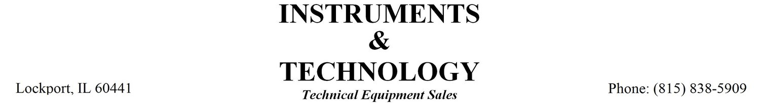 Instrument & Technology