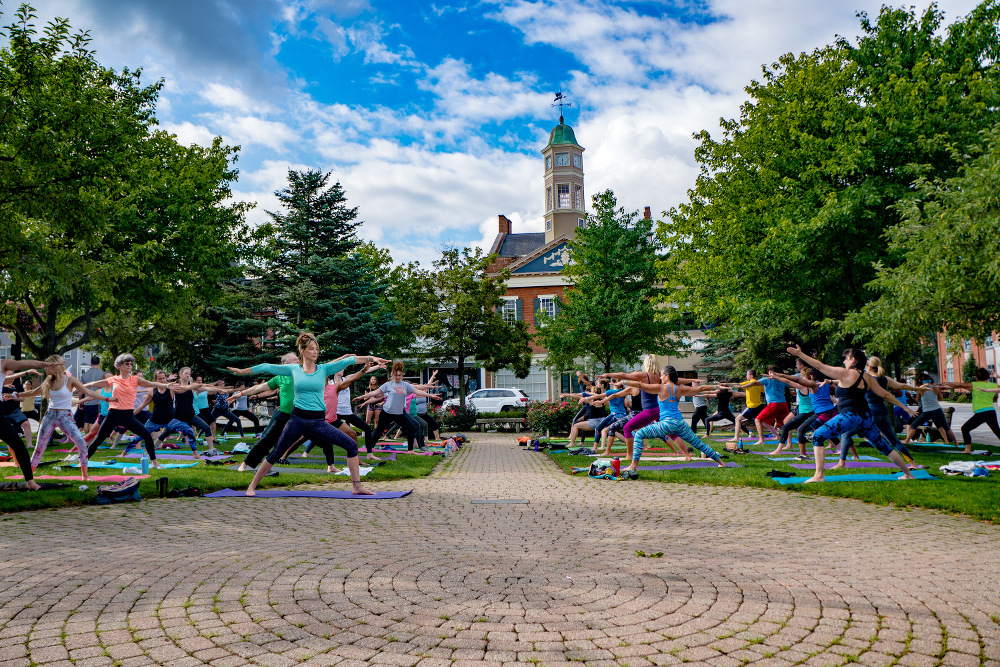 Yoga by the Falls -