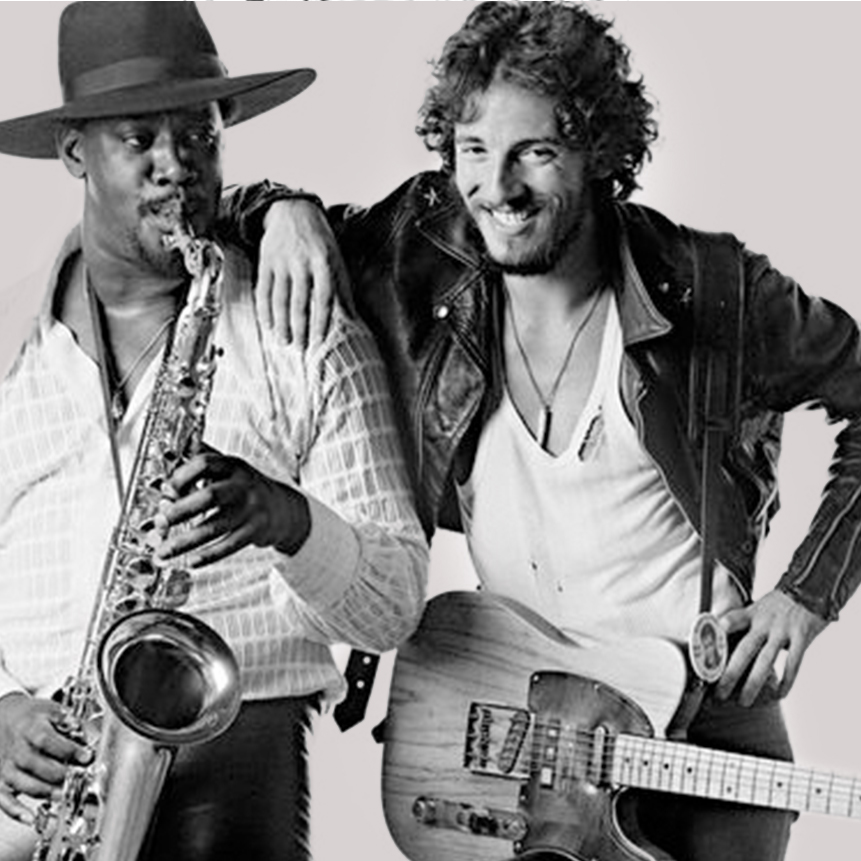 BRUCE springsteen + clarence clemons - ACCOUNT PARTNERS