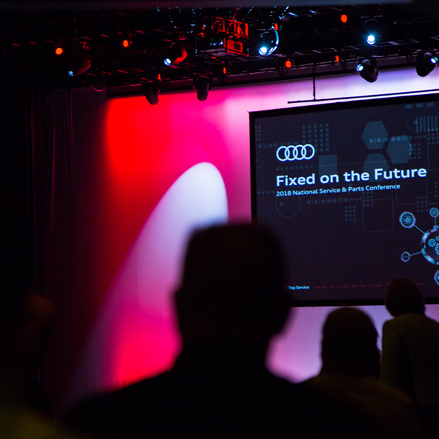 Audi of america 2018 Service & Parts Conference -