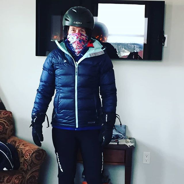 Looks like the weather has dropped on CK athlete Pam Sponholtz in Breckenridge ColoRADo.  Little does she know that I'm super stoked that she will be building base with that heavy ass snow bike and ski skins over the next few months. Rockin it Pam!